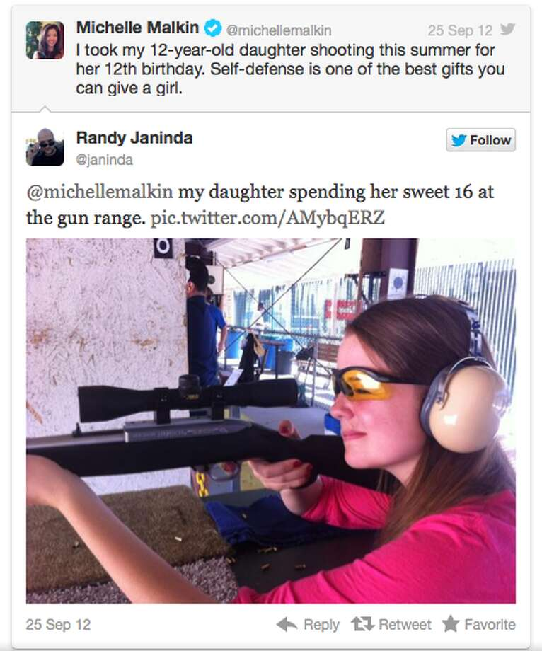 When Ohio Republican vice presidential nominee Paul Ryan announced that he purchased his 10-year-old daughter a Remington 700 .243 junior model rifle last year and planned to take her on her first hunting trip this year, supporters applauded him for exposing his daughter to the sport at a young age and posted images on Twitter of their own young daughters shooting guns. (Twitter)