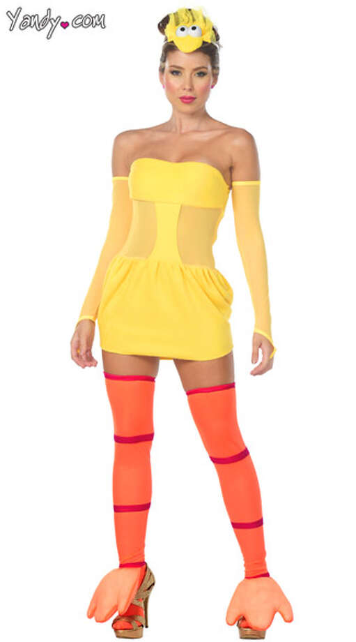 Every year the Halloween costumes get tighter, shorter and skimpier, allowing women to show off more cleavage and more leg. This year, the industry hit an all-new low with slutty Sesame Street costumes.  (Yandy.com                                                 )