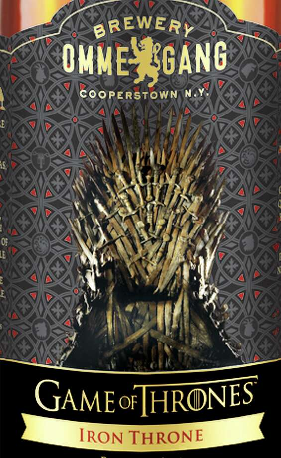 Detail of the Brewery Ommegang Game of Thrones beer bottle label. (Courtesy Brewery Ommegang)