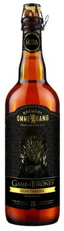 The Brewery Ommegang Game of Thrones beer bottle. (Courtesy Brewery Ommegang)