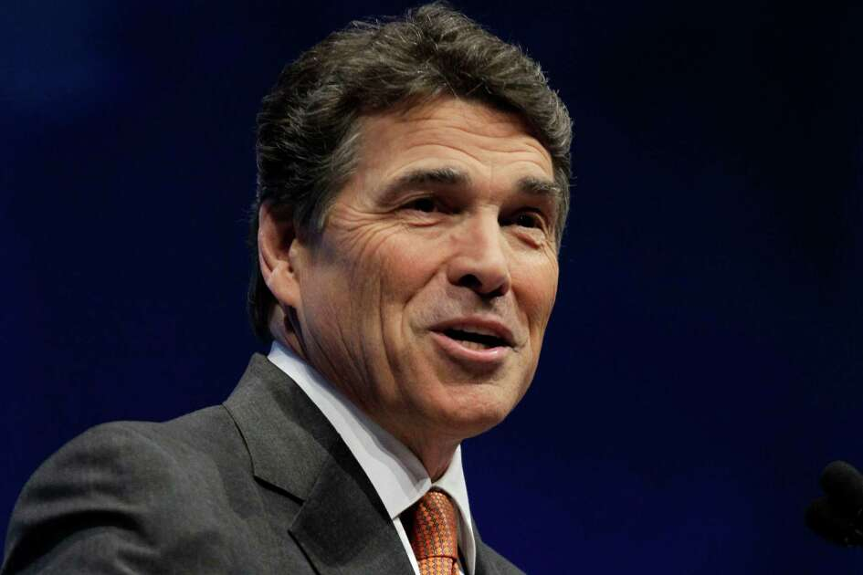 In this April 13, 2012 file photo, Texas Governor Rick Perry speaks in St. Louis. Republican governors who've balked at creating new consumer health insurance markets under President Barack Obama's health care law may end up getting stuck.  Instead of their state officials retaining some control over insurance issues that states traditionally manage, Washington could be calling the shots.