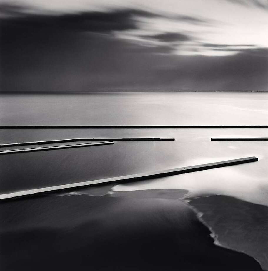 """Sadakichi's Docks, Otaru, Hokkaido, Japan"" prizes formal values. Photo: Michael Kenna"