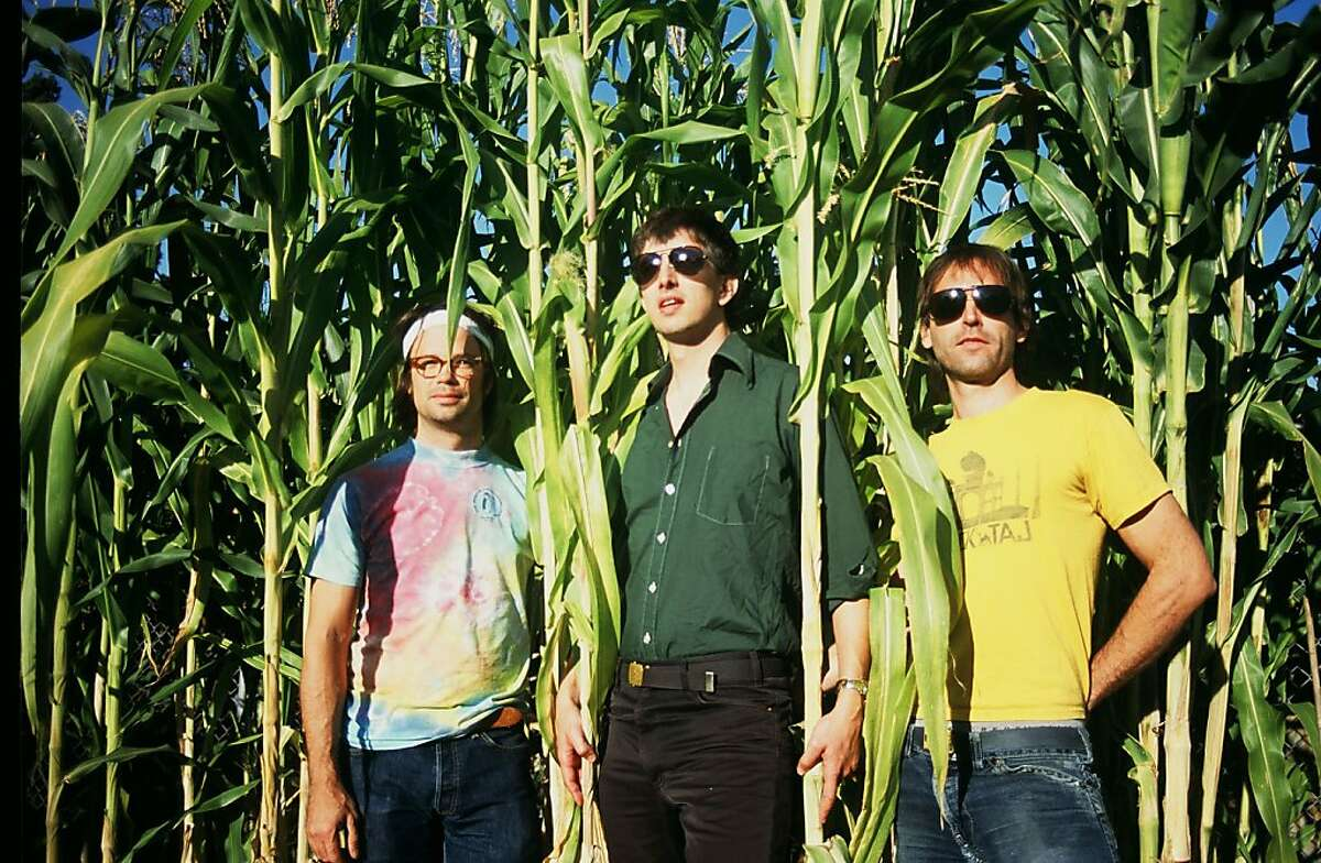 Trans Am (l-r Phil Manley, Nathan Means and Sebastian Thomson) will perform Saturday at Bottom of the Hill in San Francisco. Credit: Hoyt Fay