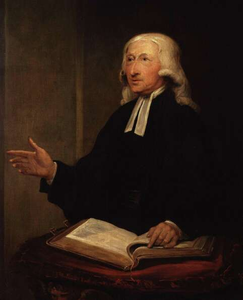 John Wesley, the founder of the Methodist Church, figured the beginning of the end