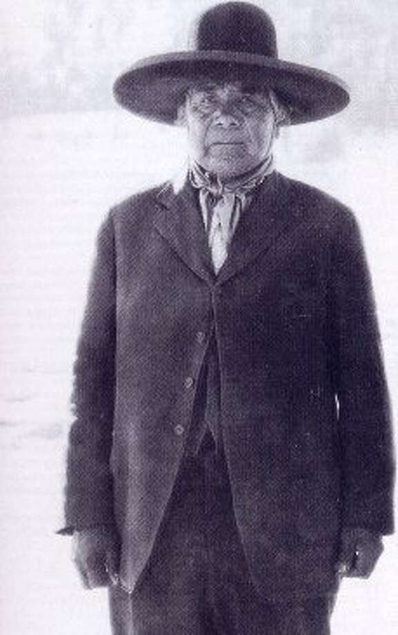 "In the late 1880s a Paiute mystic called Wovoka (Jack Wilson) spread the Ghost Dance among Indian tribes across the West. An ethnologist found Wovoka's message ""The Promise of the Ghost Dance"" in 1891, after Wovoka's prophecy failed: ""Do not tell the white people about this. Jesus is now upon the earth. He appears like a cloud. The dead are still alive again. I do not know when they will be here; maybe this fall or in the spring. When the time comes there will be no more sickness and everyone will be young again."" PBS wrote that the ""slaughter of Big Foot's band at Wounded Knee Creek in 1890 was cruel proof that whites were not about to simply vanish, that the millennium was not at hand. Wovoka quickly lost his notoriety and lived as Jack Wilson until sometime in 1932."" (Photo: Wovoka. Wikimedia Commons)"