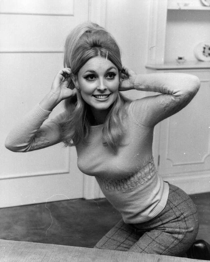 American actress Sharon Tate (1943 - 1969), second wife of film director Roman Polanski, in London. She was murdered by followers of Charles Manson the notorious serial killer.  (Photo: Keystone/Getty Images) / Hulton Archive