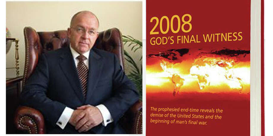 Ronald Weinland,  who says on his blog that he has been a minister in the Church of God for more than twenty-five years,  and first called for the end of the world to strike on Sept. 30, 2008, then on May 27, 2012, and then revised it all to say that the beginning of the end was in May of this year and the final day will be May 19, 2013. (Photo is a composite from screen grabs)