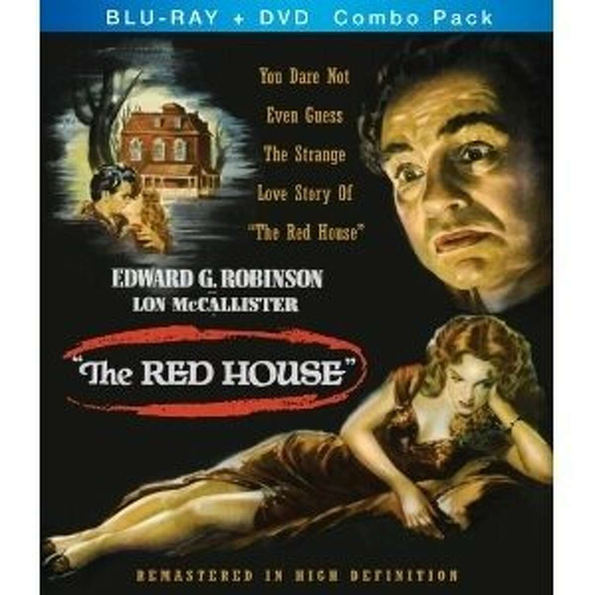 dvd cover THE RED HOUSE