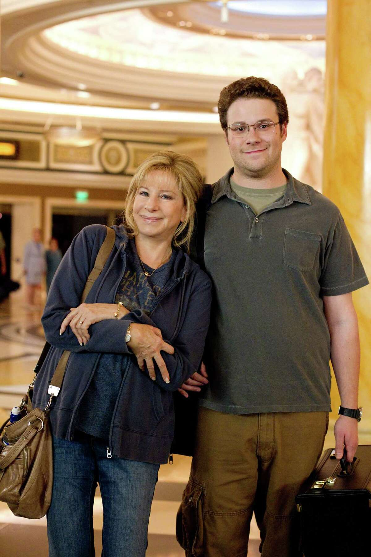 Barbra Streisand and Seth Rogen play mother and son in the pleasantly stereotype-free
