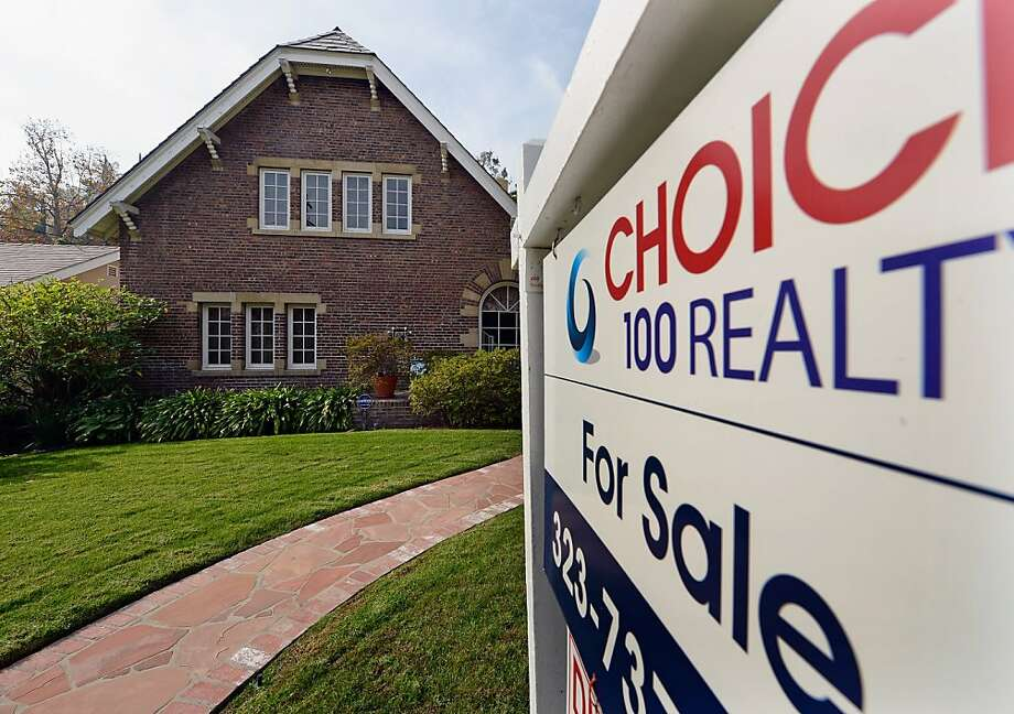 Bay Area single-family home prices have risen by 26 percent. Photo: Kevork Djansezian, Getty Images