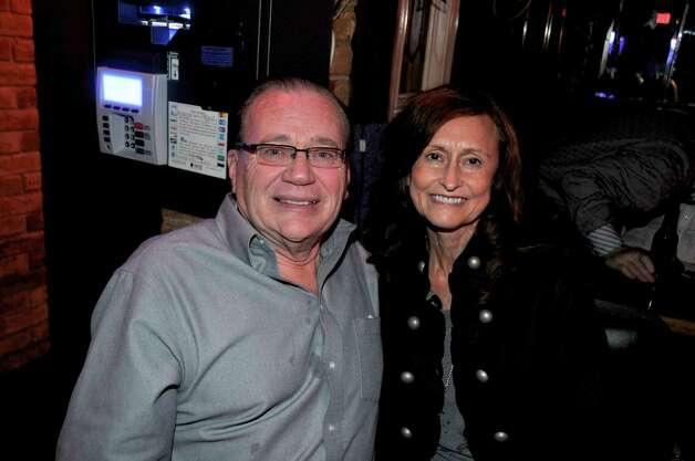 Ray and Elizabeth Blankenberg are celebrating at the Martini club.