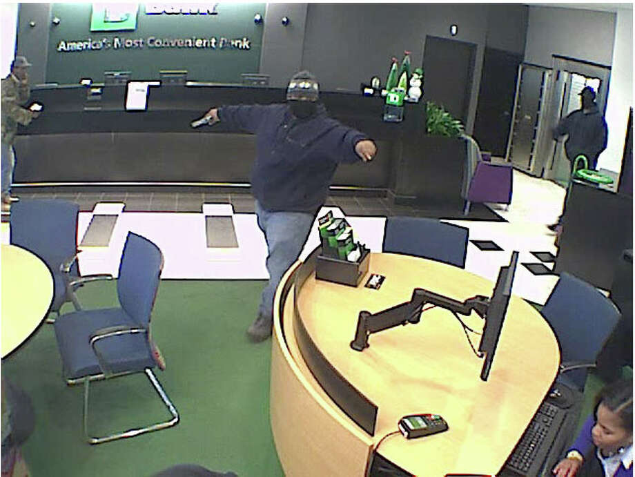 Bridgeport, Conn. police are investigating a bank robbery that occurred at the TD Bank branch on Barnum Avenue on Tuesday, Dec. 18, 2012. Photo: Contributed Photo
