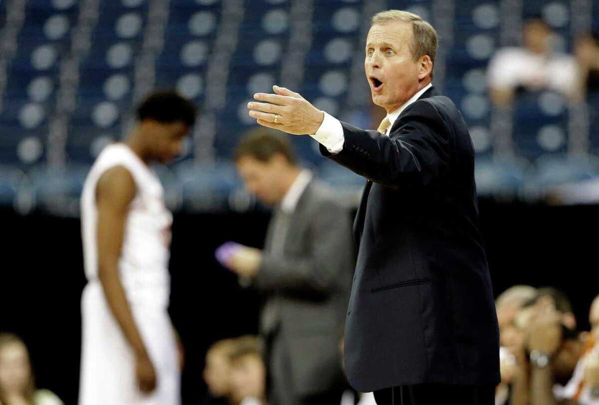 Texas basketball coach Rick Barnes says he's confident his struggling young team