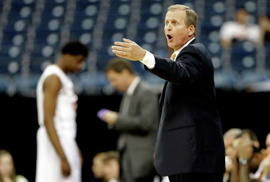 "Texas basketball coach Rick Barnes says he's confident his struggling young team ""is going to be good."" Photo: David J. Phillip, Associated Press / AP"