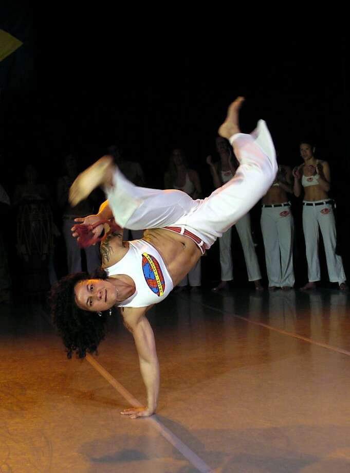 Marcia Treidler is the founder of Abadá-Capoeira. Photo: Andy Mogg, Courtesy