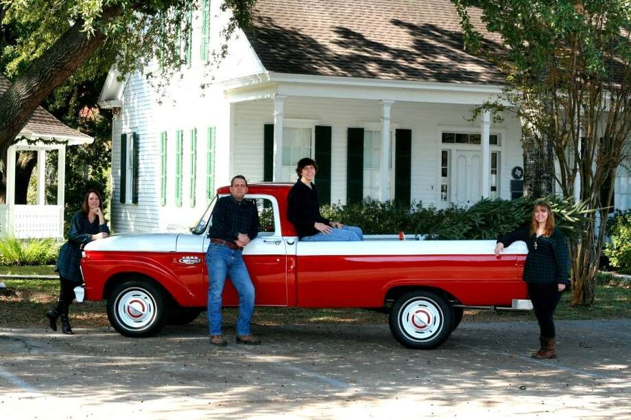 Restoring this 1966 Ford pickup was a family affair for the Sheffields.