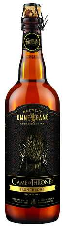 Iron Throne Blonde Ale from Ommegang.