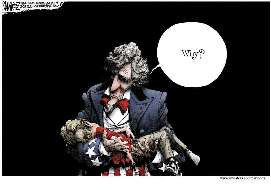 Today's editorial cartoon by Michael Ramirez