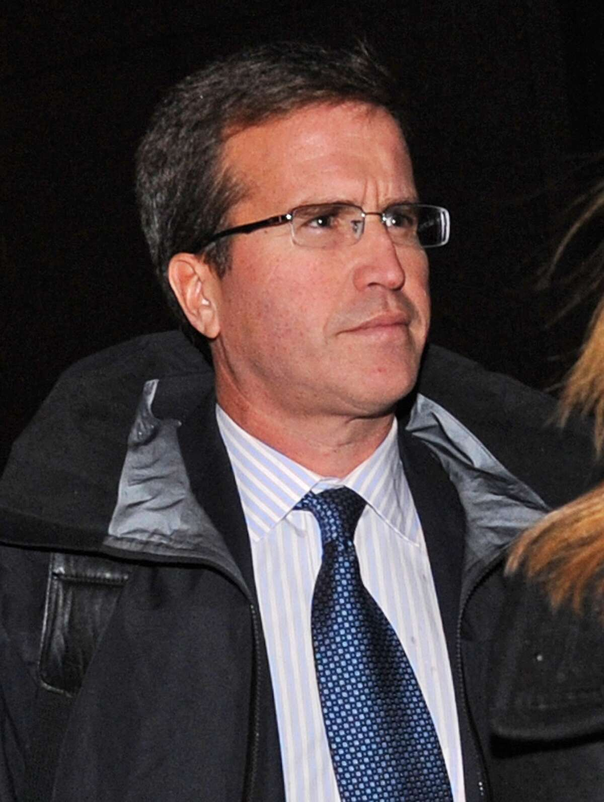 Former Diamondback fund manager Todd Newman leaves Manhattan federal court, Tuesday, Nov. 27, 2012, in New York.