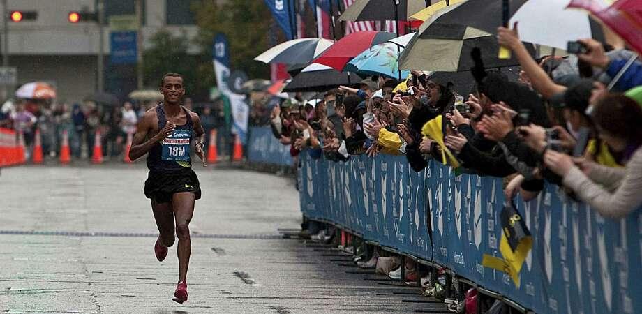 2011 Men's - Bekana Daba 0 2:07:04- Ethiopia Photo: James Nielsen, Houston Chronicle / Houston Chronicle
