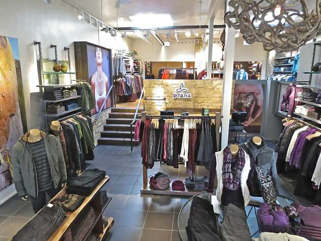 The prAna stand-alone shop on Fillmore Street is the first in the Bay Area for the maker of sporty casual wear. Photo: PrAna