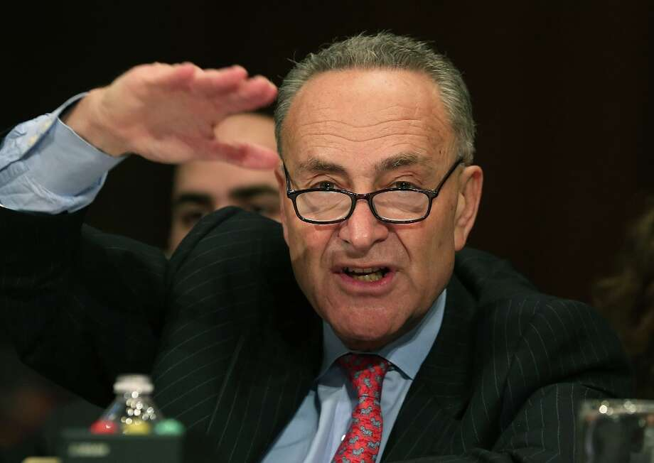 U.S. Sen. FILE — U.S. Sendator Chuck Schumer (D-NY). Photo: Mark Wilson, Getty Images / 2012 Getty Images