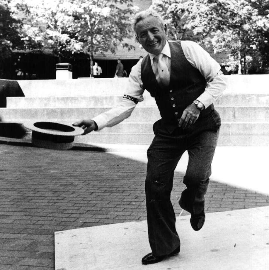 CHARLIE 'TAPS' DiMURA--Albany Area Song and Dance Man 8/31/90 --2-- loucks Photo: Roberta Smith