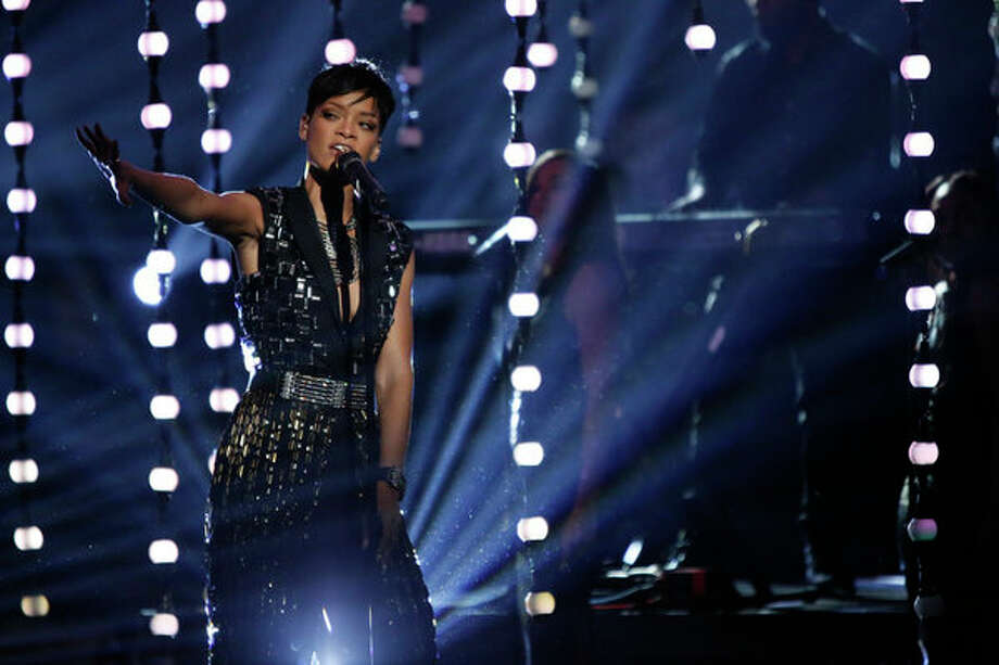THE VOICE -- Live Finale Episode 323B -- Pictured: Rihanna -- (Photo by: Tyler Golden/NBC) Photo: NBC, Tyler Golden/NBC / 2012 NBCUniversal Media, LLC