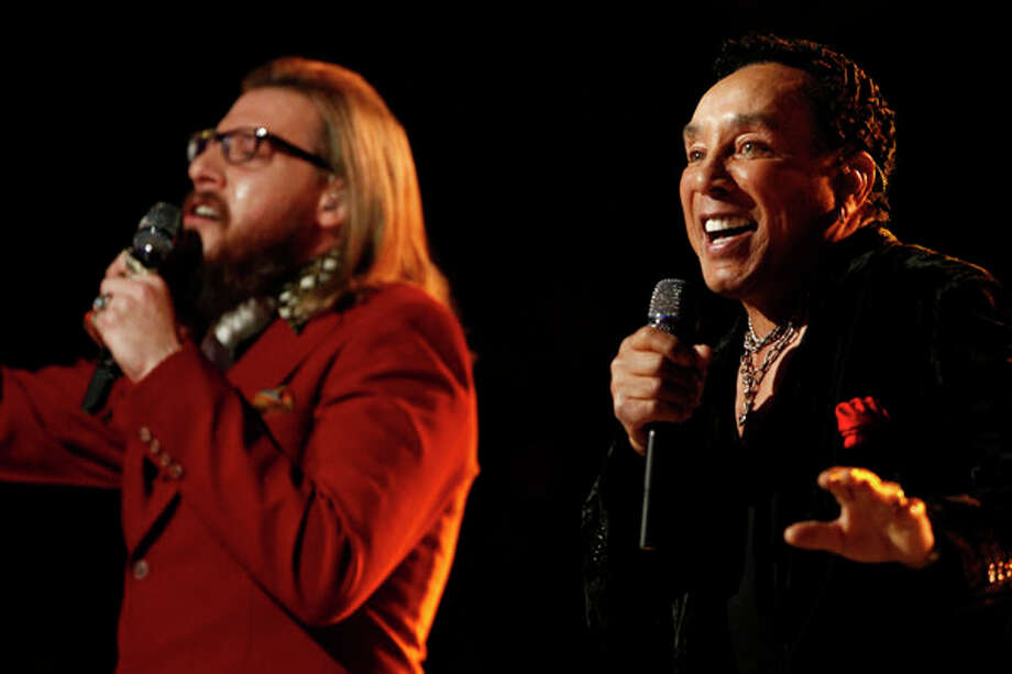 THE VOICE -- Live Finale Episode 323B -- Pictured: (l-r) Nicholas David, Smokey Robinson -- (Photo by: Trae Patton/NBC) Photo: NBC, Trae Patton/NBC / 2012 NBCUniversal Media, LLC