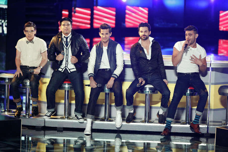 THE VOICE -- Live Finale Episode 323B -- Pictured: (l-r) Mackenzie Bourg, Julio Cesar, Dez Duron, Cody Belew, Diego Val -- (Photo by: Tyler Golden/NBC) Photo: NBC, Tyler Golden/NBC / 2012 NBCUniversal Media, LLC