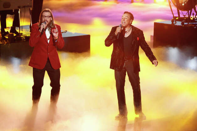 THE VOICE -- Live Finale Episode 323B -- Pictured: (l-r) Nicholas David, Smokey Robinson -- (Photo by: Tyler Golden/NBC) Photo: NBC, Tyler Golden/NBC / 2012 NBCUniversal Media, LLC