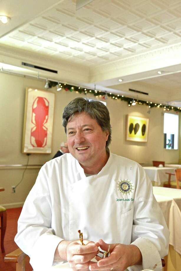 "French Chef Jean-Louis Gerin takes a moment to reflect on his time - nearly 30 years - at his Lewis Street restaurant, which is closing today. Gerin is taking a position as vice president of Culinary Operations and Executive Chef at the New England Culinary Institute in Vermont. ""Education has always been a big part of what I do,"" says Gerin. Photo: Jean-Francois Bulcyz/For Greenwi, Contributed Photo / Greenwich Citizen"