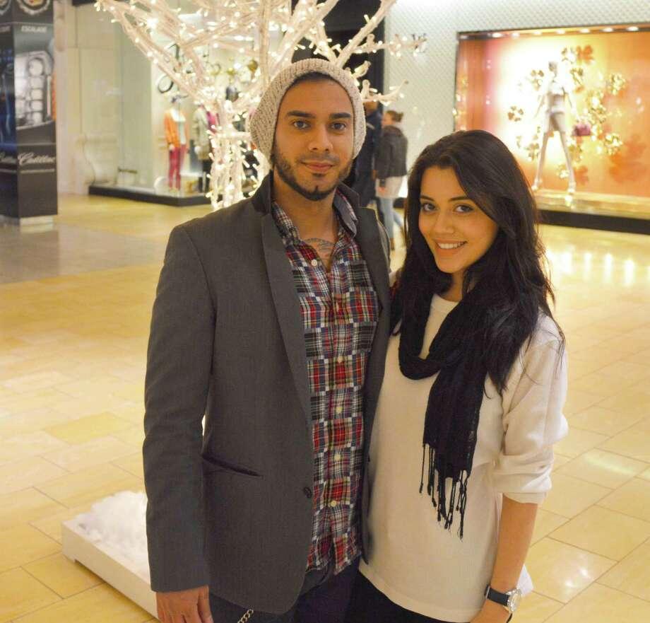 Mark Garcia and Aymee Gonzalez