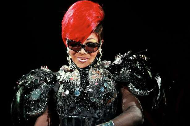 "CoCo Montrese, AKA Martin Cooper, performs as Rihanna and Janet Jackson in Frank Marino's Divas Las Vegas. She's also a contestant on the fifth season of ""RuPaul's Drag Race."" courtesy photo"