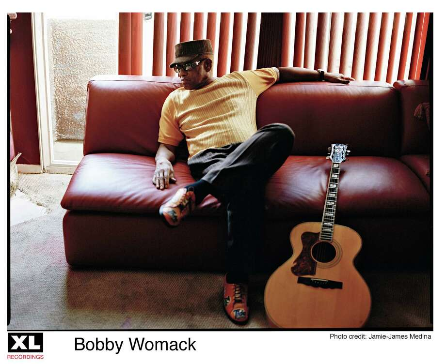 musician Bobby Womack Photo: Jamie-James Medina
