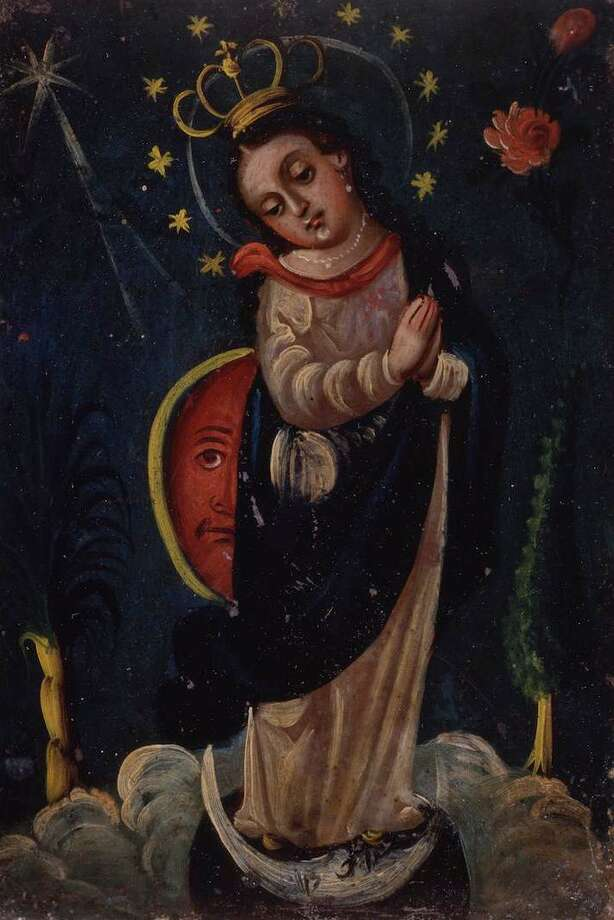 "The ""Purisima Concepcion Retablo"" is part of the ""Rostros de Maria"" exhibit at the San Antonio Museum of Art. Photo: San Antonio Museum Of Art"