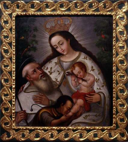 """Our Lady of Mercy,"" a late 19th century painting from Ecuador, is part of the exhibit ""Rostros de Maria"" at the San Antonio Musuem of Art."