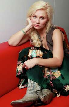 Actress/singer Clare Bowen   Photo: Damian Dovarganes, STF / AP