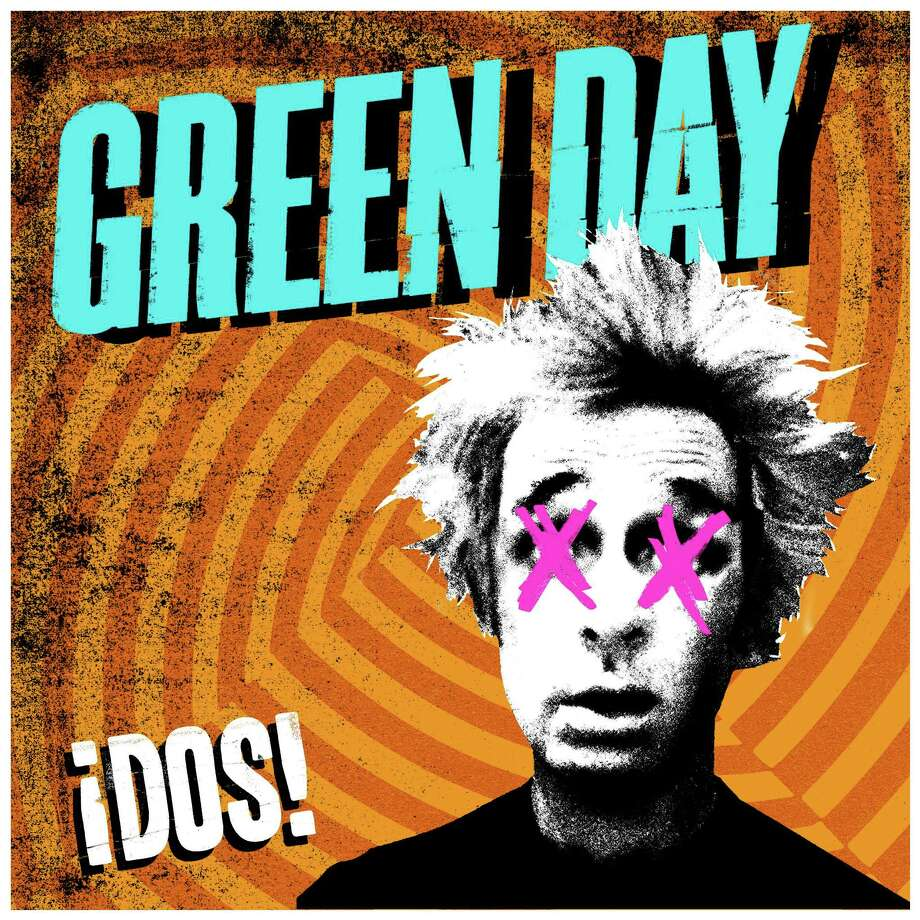 "This undated publicity photo provided by Warner Bros. Records shows Green Day's album cover for ""A'A!DOS!,"" part of a trilogy album release. (AP Photo/Warner Bros Records) / Warner Bros. Records"