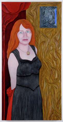 DENISE POLIT STEPHANIE ROSE 2007								 OIL ON CANVAS, 55? X 28? COLLECTION OF THE ALBANY INSTITUTE OF HISTORY & ART (COURTESY THE ALBANY INSTITUTE OF HISTORY & ART)