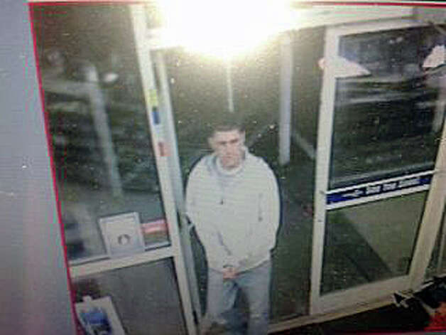 Police are looking for this man, who they said tried to steal cigarettes from a convenience store. Photo: Contributed Photo / Fairfield Citizen
