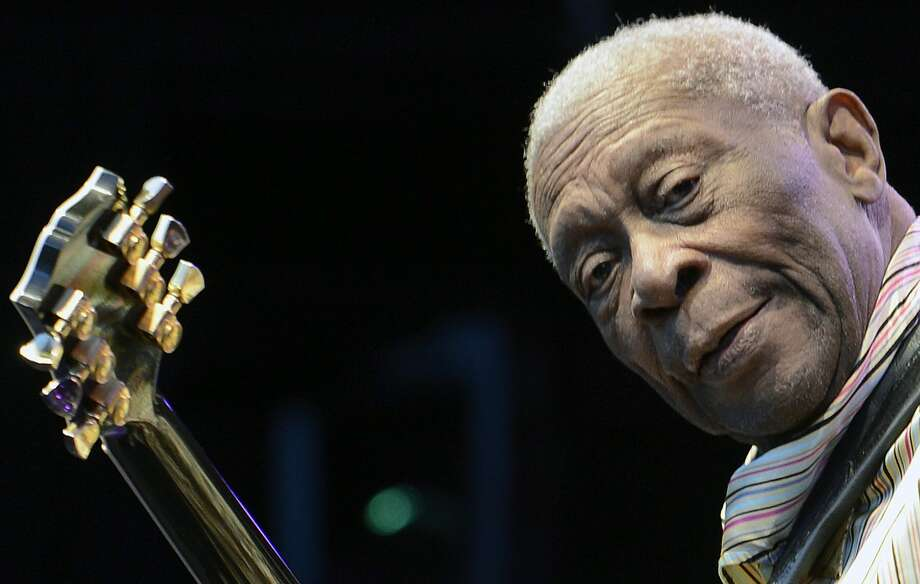 B.B. King: At 87, he's not quite as spry a player or singer as he once        was. But his mastery of the blues remains an American treasure. Jan. 11        at House of Blues, 1204 Caroline; 888-402–5837. Photo: Walter Bieri, Associated Press / KEYSTONE
