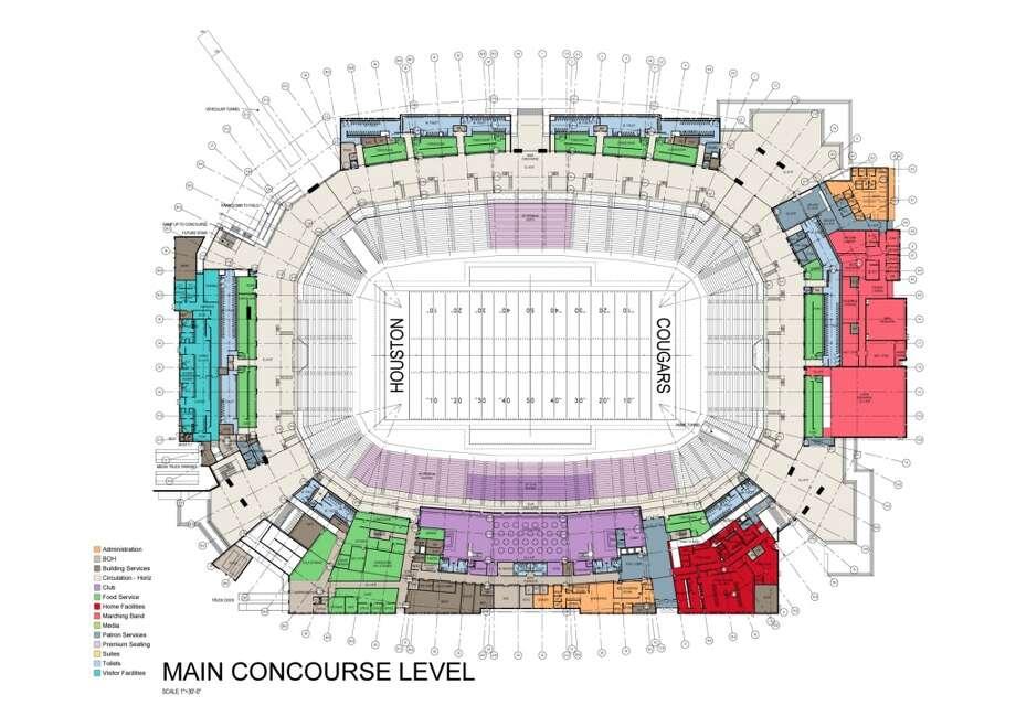 Stadium blueprint.