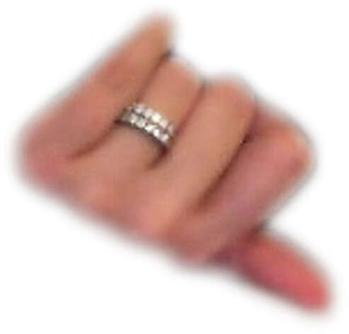 """Jane Doe,"" her ring pictured here, is suspected of producing child pornography with a 4 or 5-year-old child. Anyone with information may contact investigators at 866-347-2423, which is staffed 24-hours a day, or by filing an online tip at www.ice.gov/tips. Photo: HSI"