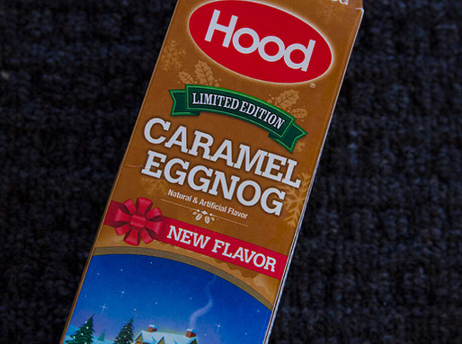 "Hood has added a ""limited edition"" Caramel Eggnog to its regular line of holiday dairy products this year. Photo: Contributed Photo"