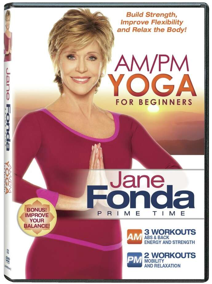 Jane Fonda's AM/PM Yoga for Beginners Photo: Courtesy Photo