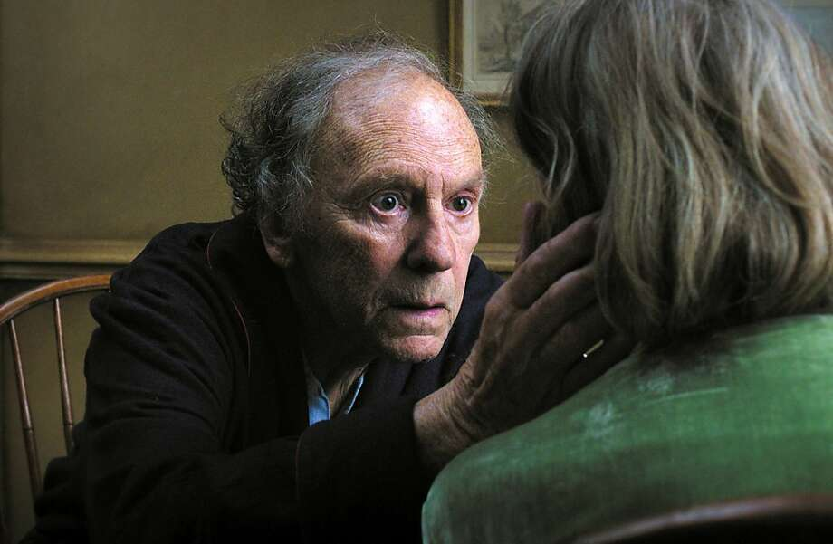 Jean-Louis Trintignant and Emmanuelle Riva play a pair struggling with aging. Photo: Uncredited, Associated Press