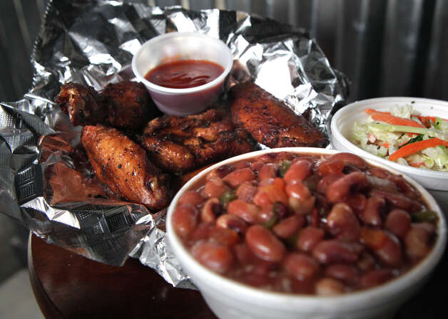 Manny O's BBQ, 1645 Pat Booker Road, Suite 101: A two-meat sandwich called Big Rex is big on flavor with a small price tag. A favorite combo is the brisket and sliced sausage. Photo: Bob Owen, San Antonio Express-News / © 2012 San Antonio Express-News
