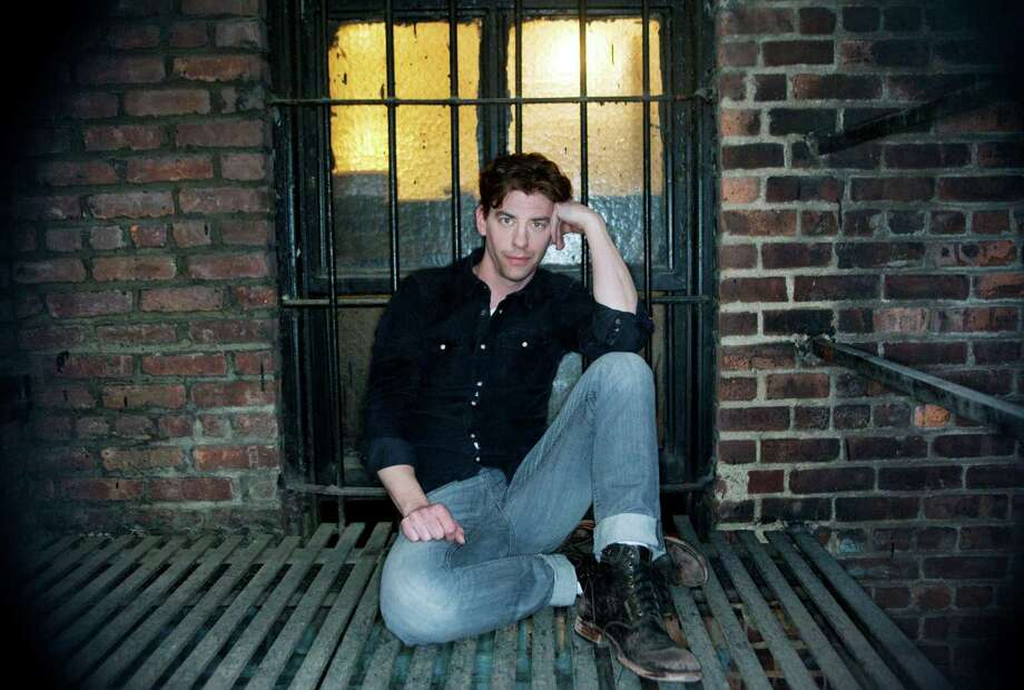 "Christian Borle, an actor on NBC's new series ""Smash,"" in New York, April 5, 2012. Borle is back on Broadway, after a four-year absence, playing a pirate in ""Peter and the Starcatcher,"" which opens at the Brooks Atkinson Theater April 15. Photo: BEATRICE DE GEA, New York Times / NYTNS"