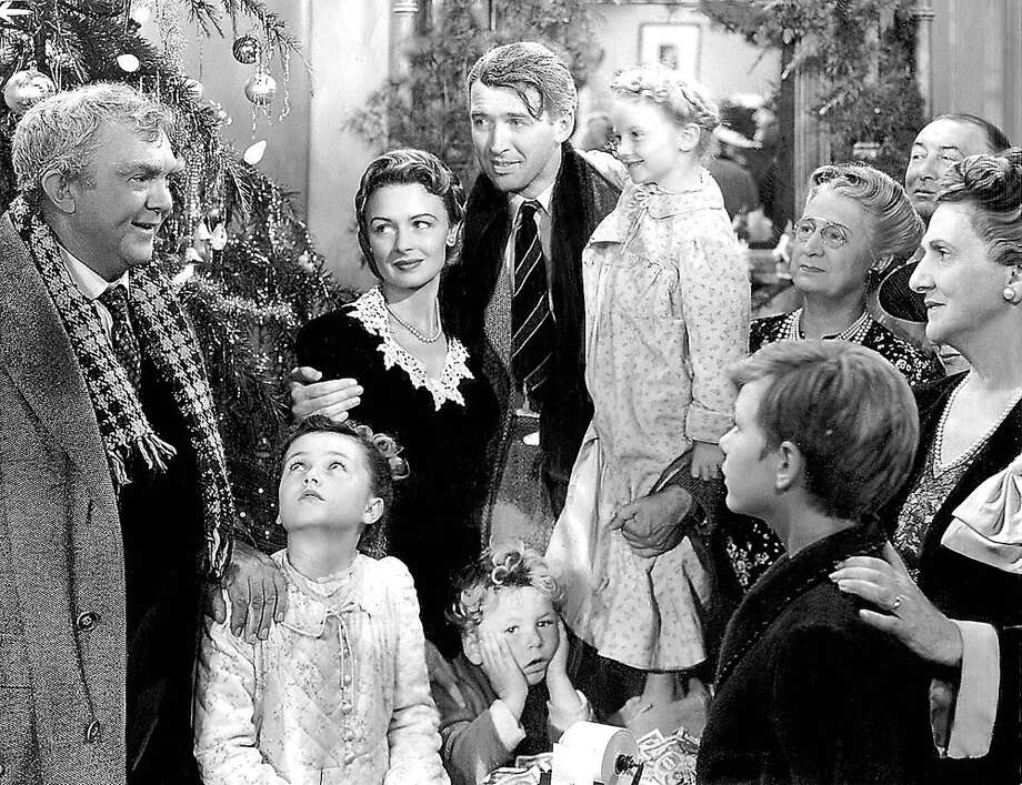 "The holiday classic ""It's a Wonderful Life"" airs on 12/24 on NBC at 7:00 p.m. Photo: Contributed Photo, File Photos / Connecticut Post Contributed"